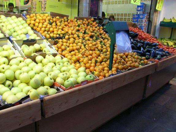 フランスのスーパーでの野菜・果物の買い方
