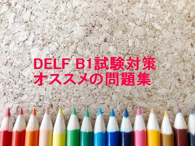 DELF B1試験対策 オススメの問題集
